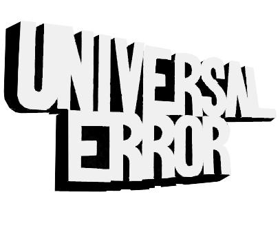 Universal Error